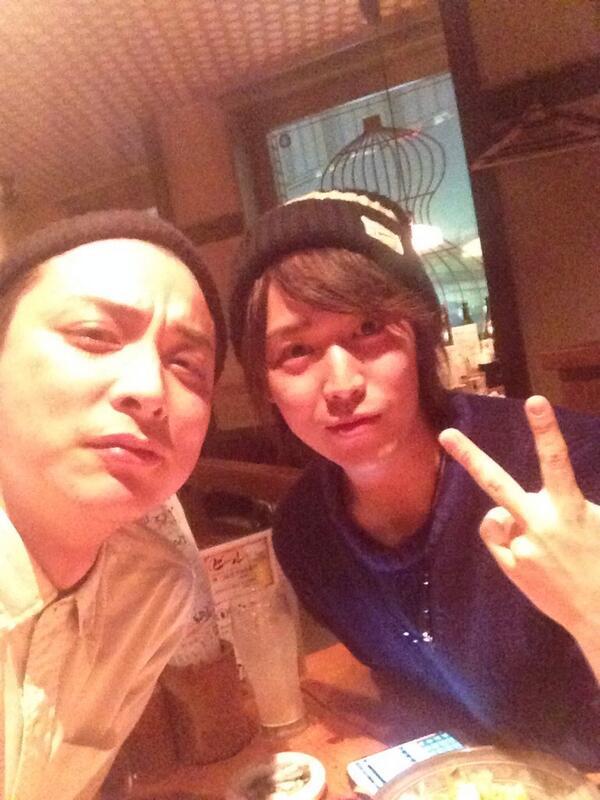 ケンケンこと、鎌苅健太さんと久々に東京で飲んでる!! http://t.co/twzNJ6uZVn