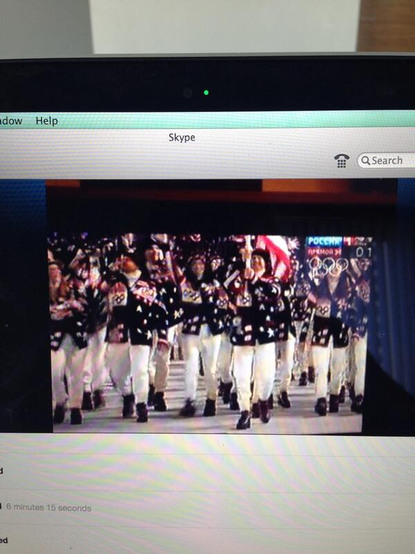 Good luck #teamUSA ! @RalphLauren #officialOutfitter http://t.co/3mdcSaaeW4
