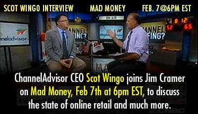 Don't miss CEO @scotwingo's interview w/ @jimcramer on @MadMoneyOnCNBC, tonight 6pmET  $ECOM http://t.co/Y0o8vcquQL