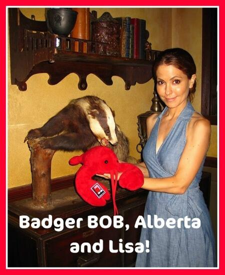 omg OMG OMG @valentinifrank and @carlivatiron Please, for the love of GOD get Bob the Badger in that new office! #GH http://t.co/nMJlKmY2qp