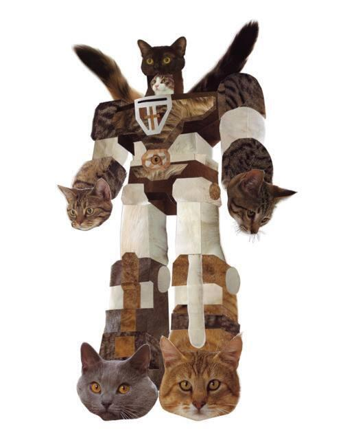VOLTRON MADE OUT OF CATS. You're welcome. http://t.co/RcfQhH35Rl
