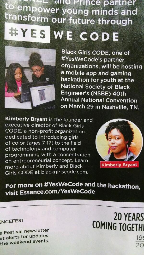 Oh SOMEBODY is cute in here. @BlackGirlsCode lol http://t.co/7sx9EBWF5L