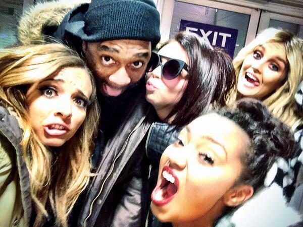 "I hate when @LittleMixOffic leaves. But before they go, here's a silly ""selfie!"" #LittleMix http://t.co/BecXmBDdaz"