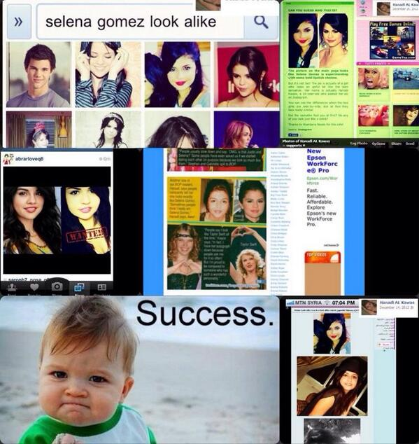 This all happened just because i look like selena :) thanks to all the sites and for bop magazine http://t.co/1BAWeTXsup