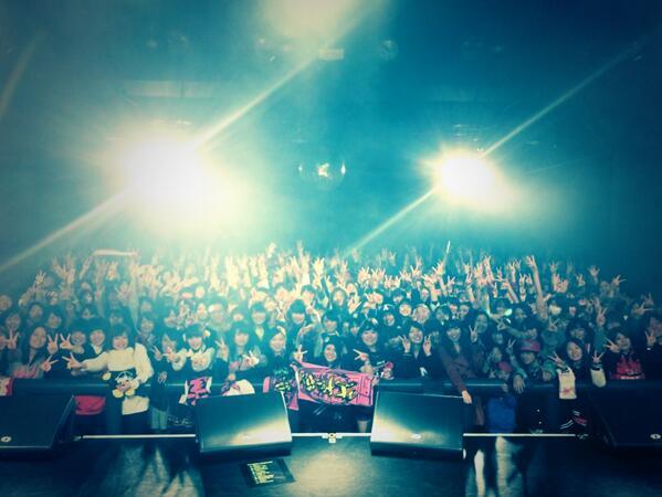 SKY-HI TOUR 2014 ~Trip of TRICKSTER~ @ Rensa 仙台、無事終了!!!全国的に大雪の中、会場はかなり熱かったのはマチガイナイです!!毎回恒例のDJブースからの一枚^ ^ また逢いましょう! http://t.co/0KyvJq0RHF