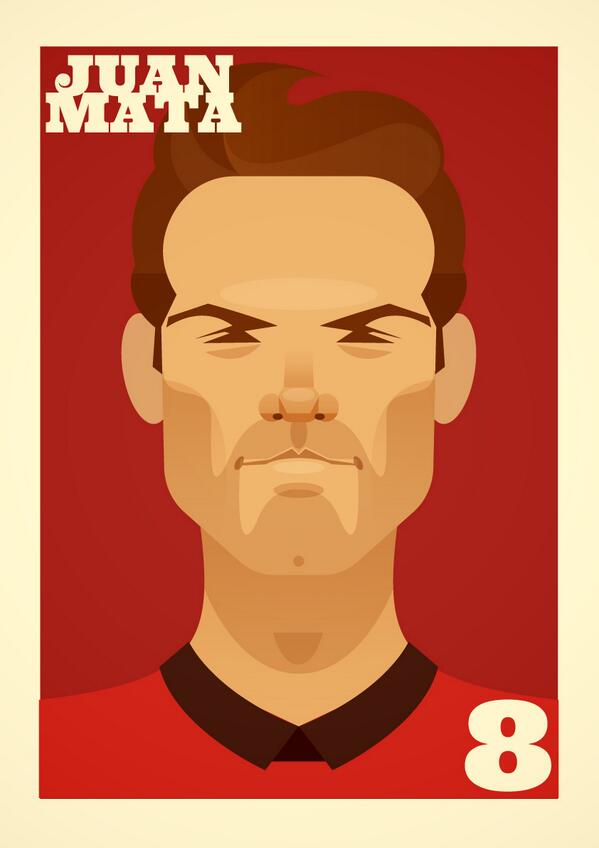 The portrait all you #mufc fans have been wanting #mata http://t.co/p9BxqaqdHD