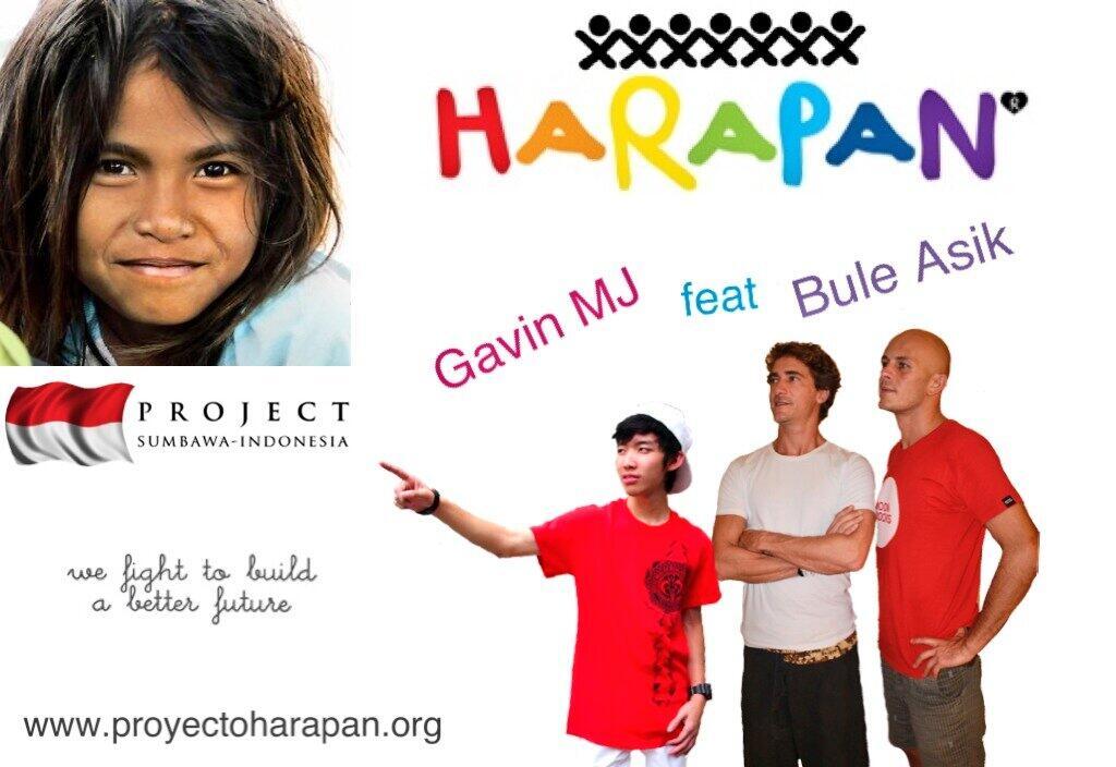Gavin MJ dukung proyek sosial untuk anak' Sumbawa, anak bangsa...merah putih didadaku! http://t.co/DFnCiW8iFw