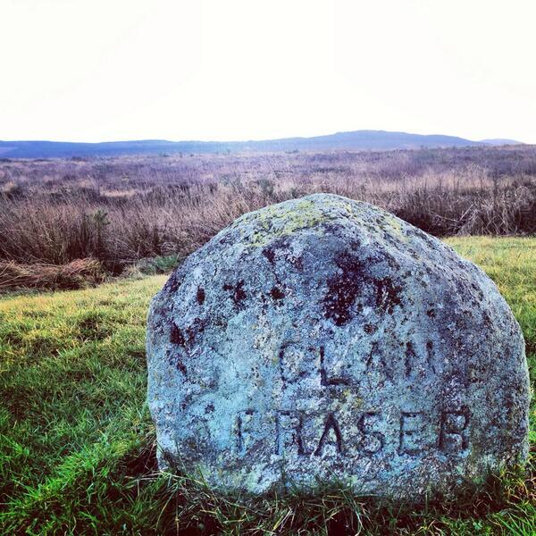 Sam Heughan (@Heughan): Culloden Moor. http://t.co/azTJih19om