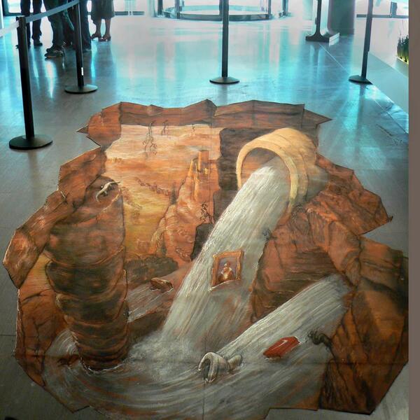 """""""Viví en Roma y ahí conocí el arte callejero."""" -Eduardo Relero #Arte. http://t.co/lao86VRZ7y"""