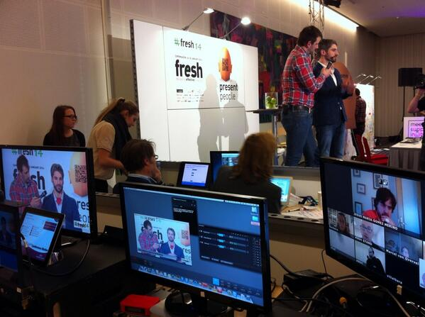 Love this photo from Fresh Conference 2014 ##Fresh14 @Freshconference  [pic] --
