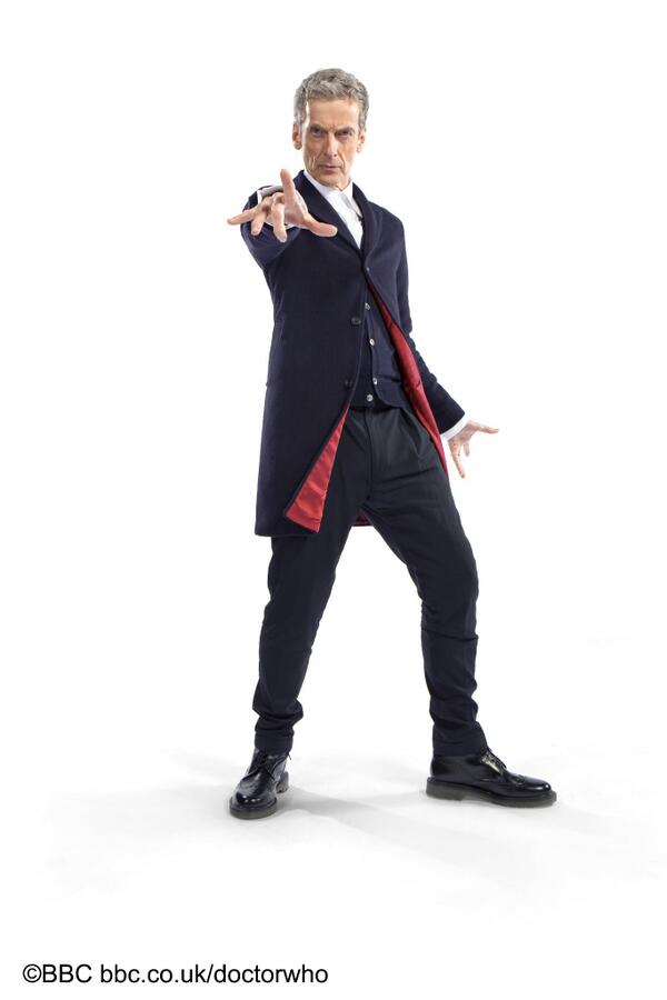 #DoctorWho EXCLUSIVE! Here it is! The new Doctor's 'costume' revealed! More info at http://t.co/Yg74PDSQxE http://t.co/H4x8as4HBX