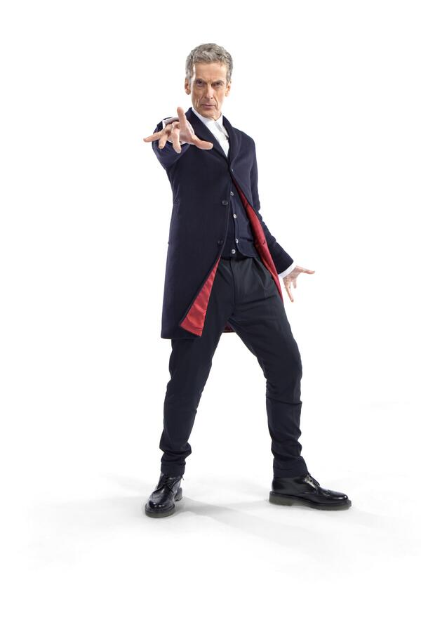 Here it is, #DoctorWho fans! The NEW Doctor's 'costume' revealed. More info here: http://t.co/8mVOFrso2q http://t.co/Xx02ufzCvK