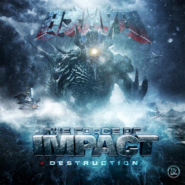"""""""The Force Of Impact / Destruction"""" available now on Beatport! @RottunOfficial @Excision http://t.co/9dIapTTbrq http://t.co/T7N0E6pt7v"""