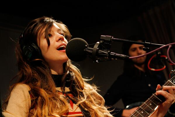 Hear psych-folk band @QUILTMUSIC play songs from 'Held In Splendor' in the Soundcheck studio. http://t.co/6QgMSo8Hqe http://t.co/S2UJ3eziGN