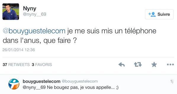 Le SAV @bouyguestelecom sur Twitter : http://t.co/mDRoVaX62S