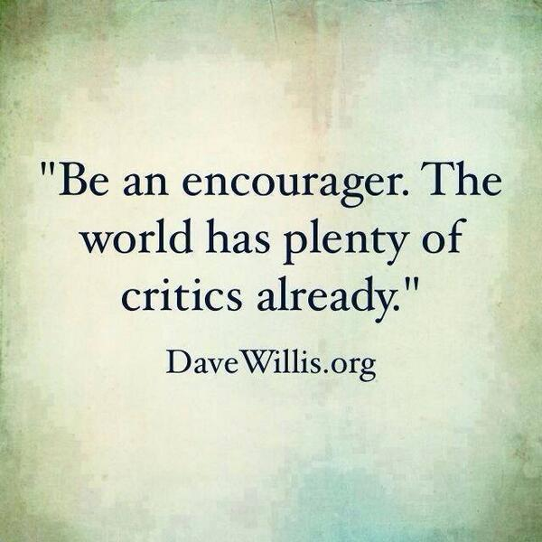 Encourage one another http://t.co/7nbqdRMR7G
