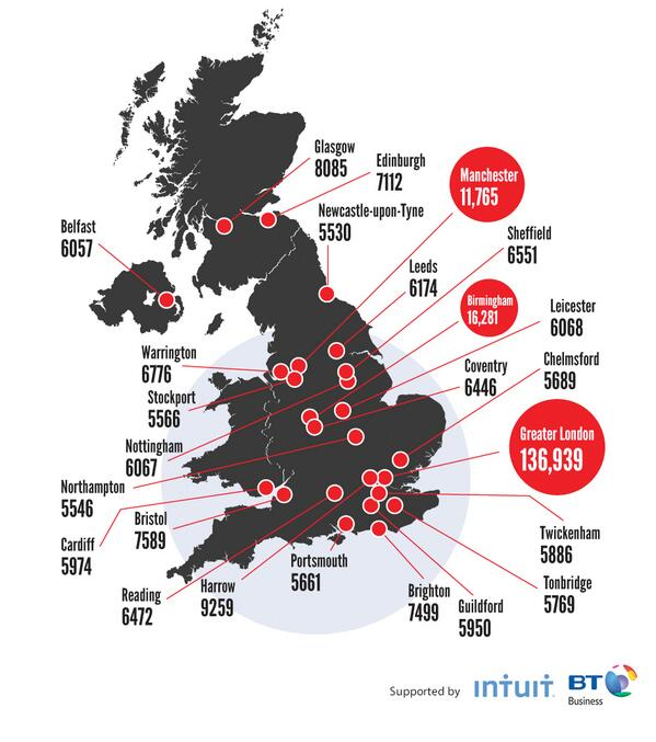 Have you seen our map revealing the UK entrepreneurial hotspots? http://t.co/b62wXjqF1P Supported by @BTBusiness http://t.co/uYns7JC6nK