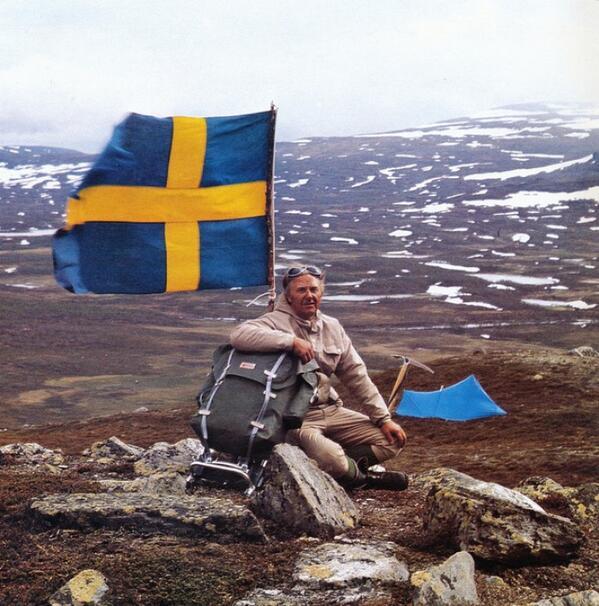R.I.P. Åke Nordin, Fjällräven founder and all-round outdoor mastermind http://t.co/1gL7Zlj2X9