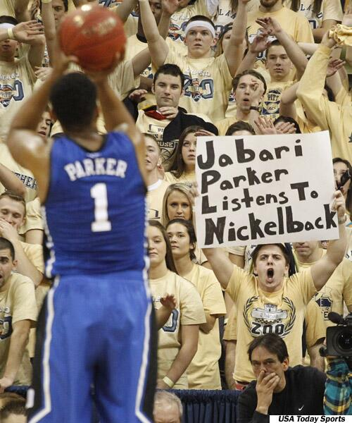 This was probably the best sign at the #Pitt-#Duke game last night. http://t.co/aMpwgE9F21