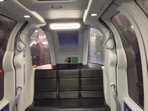 Best thing about @HeathrowAirport T5 is the pods for business parking http://t.co/5snpF6Zrim