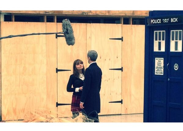 Spent an hour watching Doctor who filming in Cardiff. My justification being Im doing a media degree, so its not sad http://t.co/qvlI1btsJA