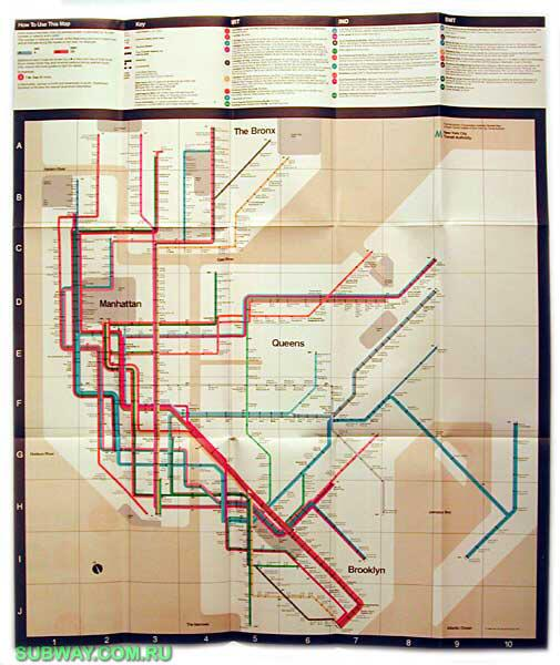 Inspiring design icon / thing: Massimo Vignelli's 1968 NYC Subway Map #TL_Chat http://t.co/v7NUPI0Ytu