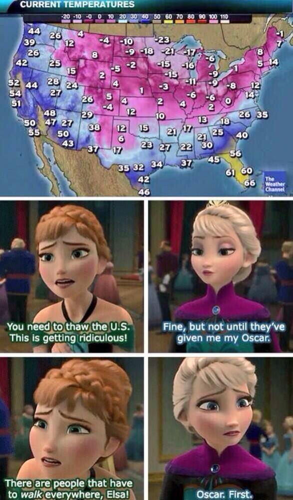 Ahhhhahahahahaha EXCELLENT. RT @Elsascoldtweets: Just give Elsa her Oscar already
