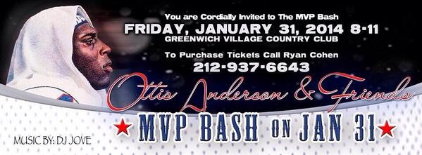 This Friday I will be rocking nothing but the old school at the MVP Bash hosted by @OJAnderson24! http://t.co/fq9EMtNngS