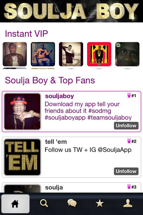 @souljaboy got it and love it