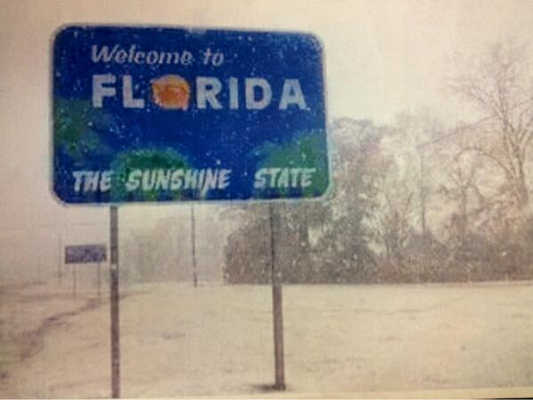 Sen Prez Don Gaetz shared this photo taken in his district in the Florida Panhandle an hour ago #WinterIsHere http://t.co/QdwCa6AxFl