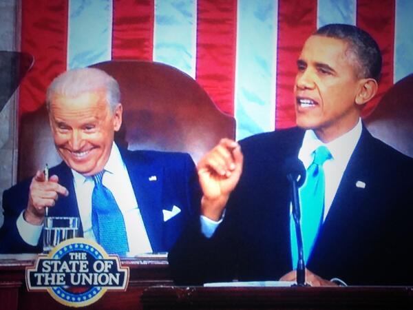 Joe Biden is a screengrabber's delight! #StateoftheUnion http://t.co/6ErEfTXQ7U