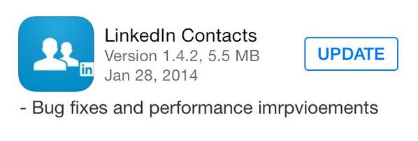 LinkedIn continues to phone it in. http://t.co/e5v6htq9yn
