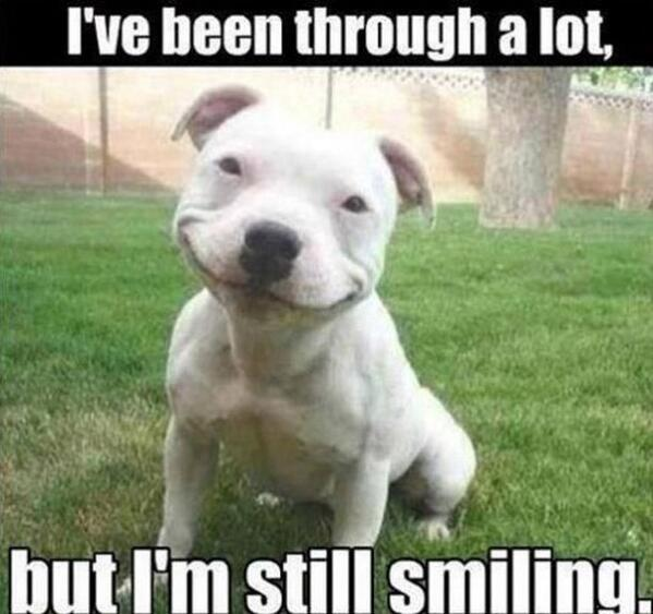 """""""Whatever you've been through, never forget to smile because you became stronger. :)"""" http://t.co/2R7pot7T7M"""