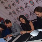 RT @gingerconejero: Candid shot of @annecurtissmith at her contract signing w ABS-CBN Big Bosses