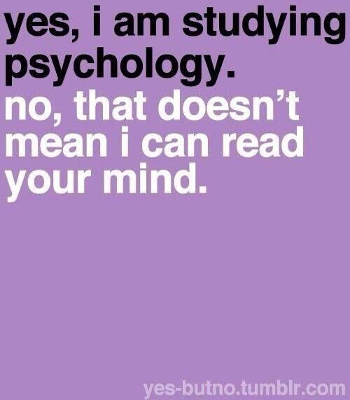 For all my fellow #psychology students. Made me laugh out loud! Right on the mark. http://t.co/LwUkMOGeYO
