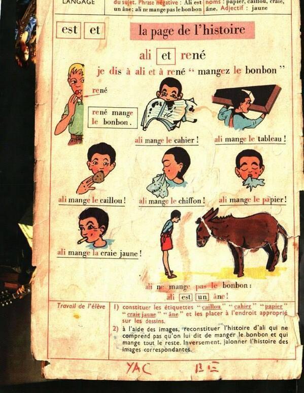 WOOOOW RT @Hichamchame06: @foued les arabes en France dans les années 50 http://t.co/wF3CNhFzRz