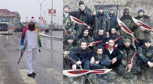 Ах-ха-ха! Эстафета олимпийского огня в Чечне: http://t.co/YBf552C2b1