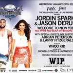 RT @LarryFitzgerald: Join us TONIGHT! @jordinsparks & @jasonderulo hosts @WIPNEWYORK W/@AdrianPeterson http://t.co/Js0OAeqfKh