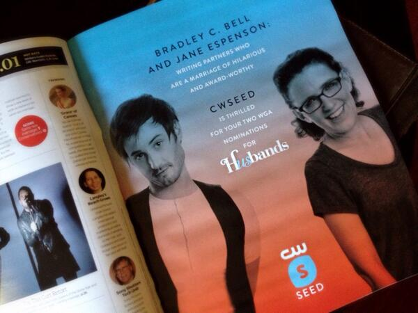 Congratulations @gocheeksgo, @janeespenson, & @cwseed! via @Variety's Awards Issue: http://t.co/Khe1MzlyN0