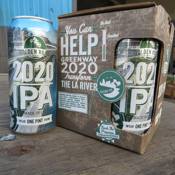 Introducing...#2020IPA to benefit @larivercorp! Details on our new #craftbeer can here: http://t.co/1E6Zi9AdPA http://t.co/uSVwMdAelq