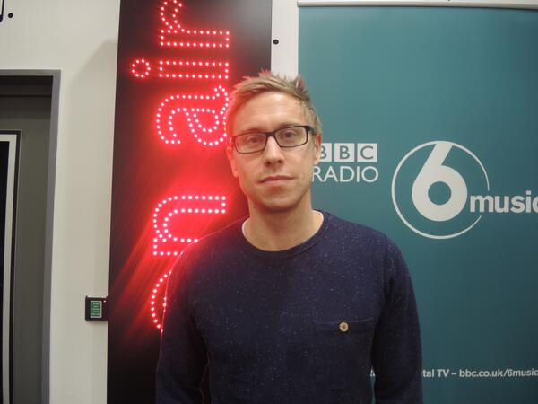 And here's @russellhoward waiting in the @BBC6Music wings, he'll be on the show very shortly... http://t.co/rC4ANVGVs7