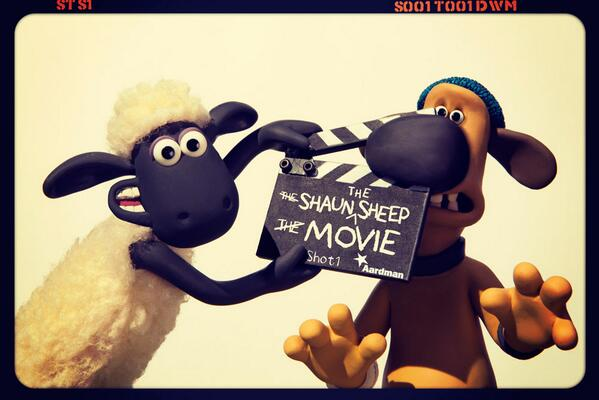 We're excited to announce that the cameras are rolling on our upcoming SHAUN THE SHEEP MOVIE - in cinemas 2015! http://t.co/4oWnqpI6sc