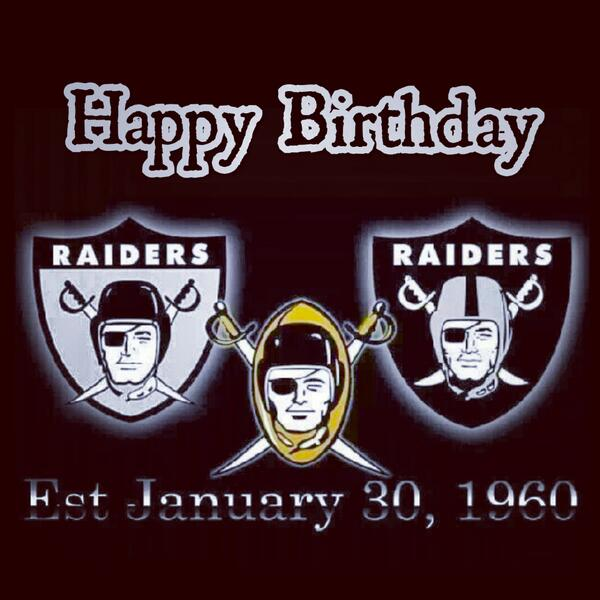 Raider Birthday Birthday Oakland Raiders