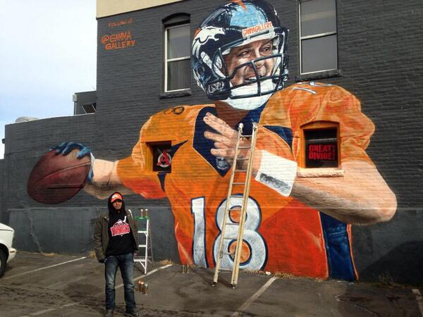 "Proud sponsor of PFM's left arm pit. RT @espn: ""Denver's painting the town Peyton for Super Sunday via @gammagallery http://t.co/Oo4JFgwqCS"""