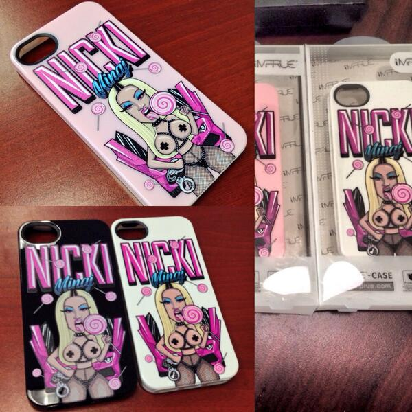 Niz (@NizzyJBeats): Nicki Minaj #Lollipop series cases will be available soon wait on it! http://t.co/ZfMFEgd4jL