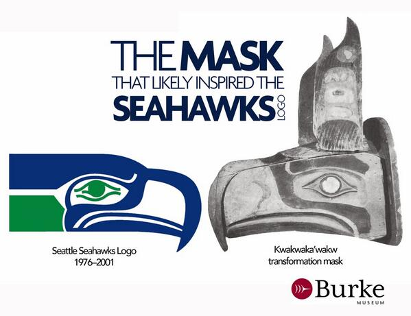 Native American mask may have inspired the @Seahawks logo. http://t.co/8JUDougqb5 http://t.co/ZTWImWniiy