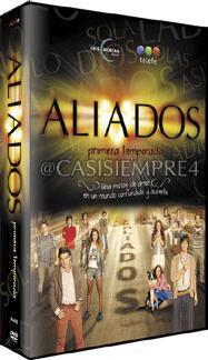 En febrero saldrá a la venta la 1ra temporada de Aliados en DVD. Son 6 discos y costara $300 http://t.co/bbBd5EnAp8 http://t.co/ev9bnvTQuL