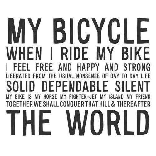 #HappyFriday. Wherever you are, we hope your passion to ride continues to fuel your fire! #Bike #inspiration http://t.co/wnlpZqLjD3