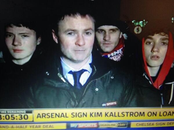 BfVUoTFIUAA VXr Feral hooded youths surround Sky reporter as Lee Cattermoles move to Stoke falls through [Pictures]