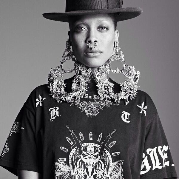 Erykah Badu  x Givenchy http://t.co/UzajRnHIQR